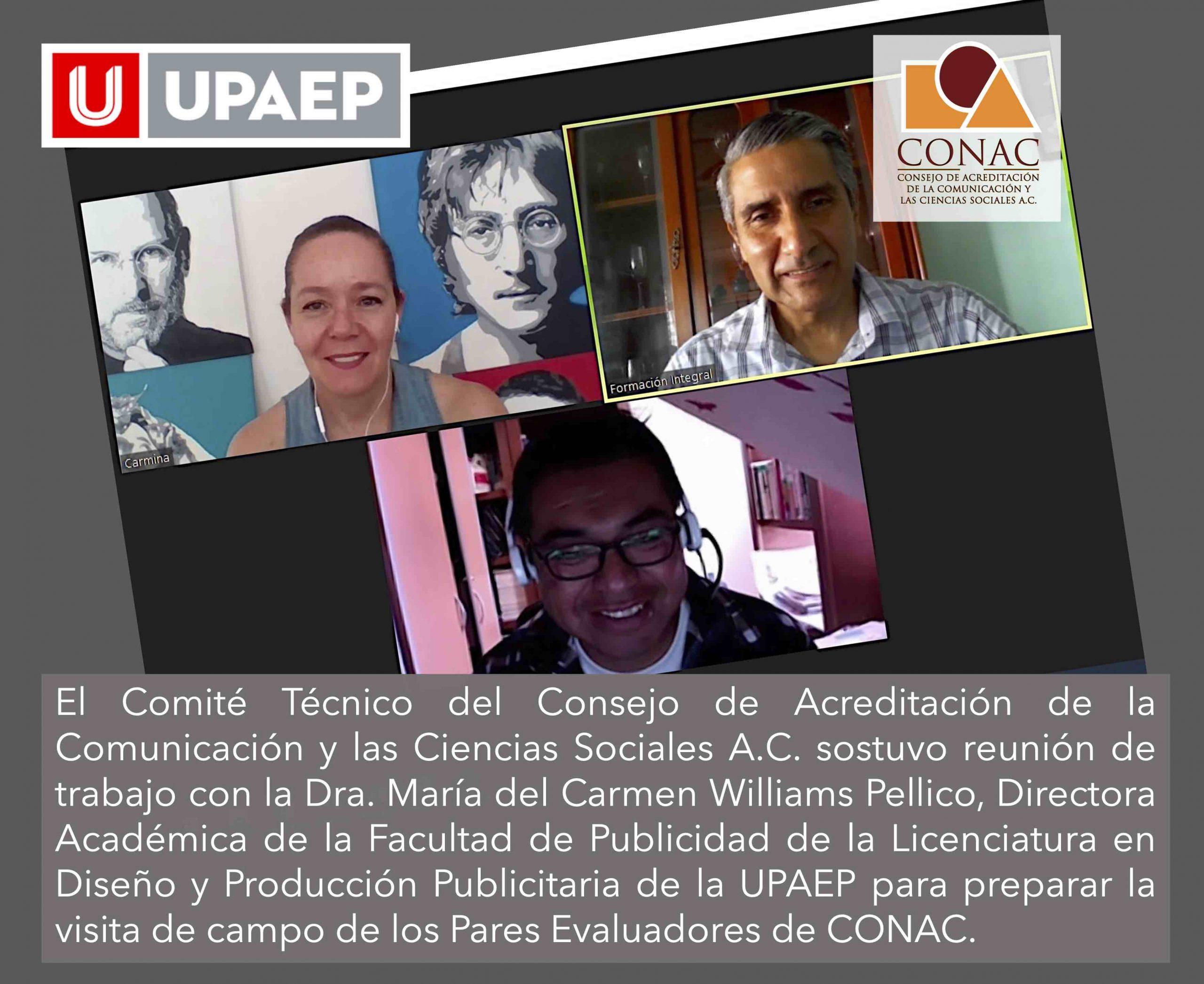 Sesión de trabajo UPAEP