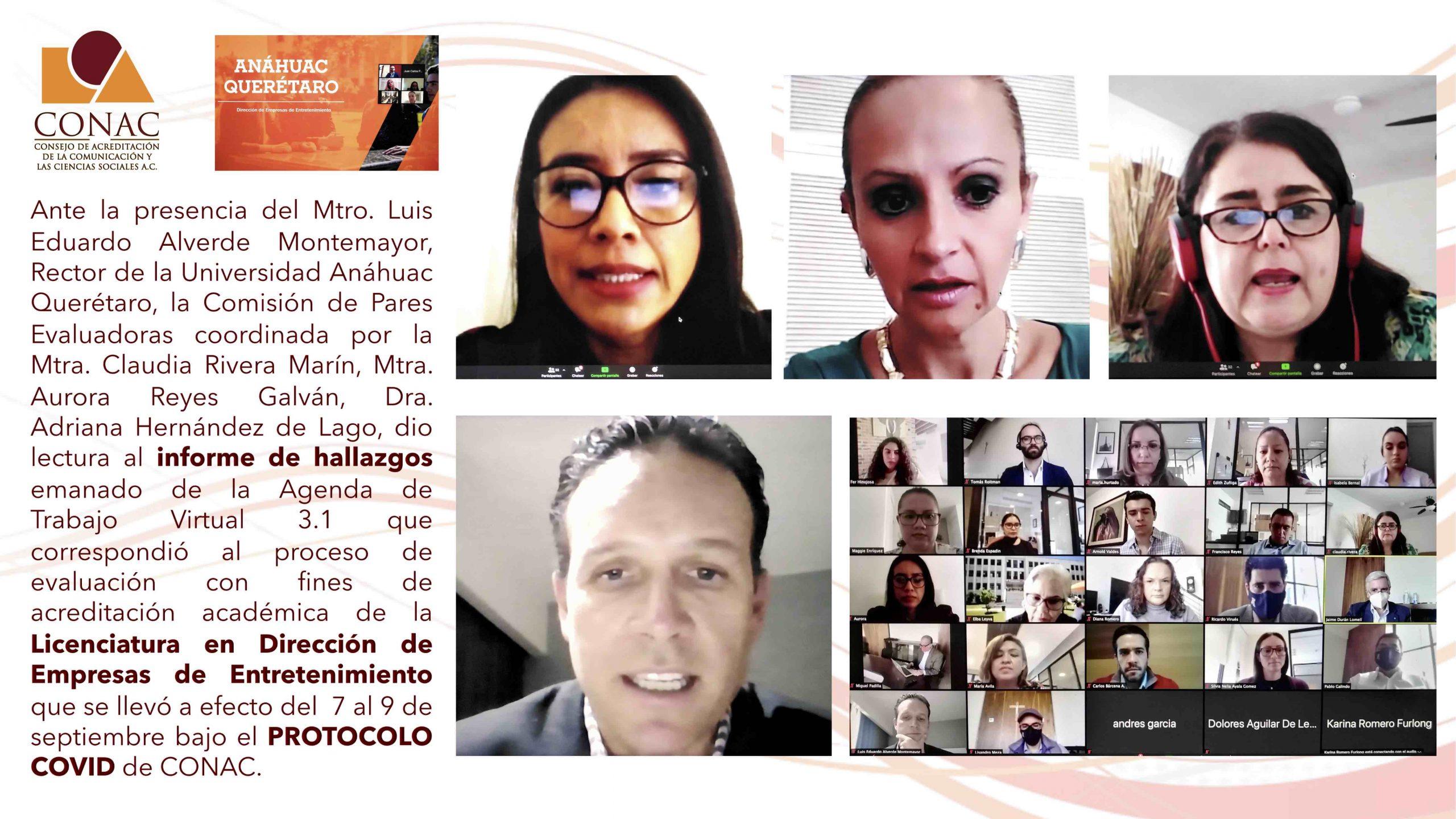 Sesión Clausura Rector U. Anáhuac Querétaro