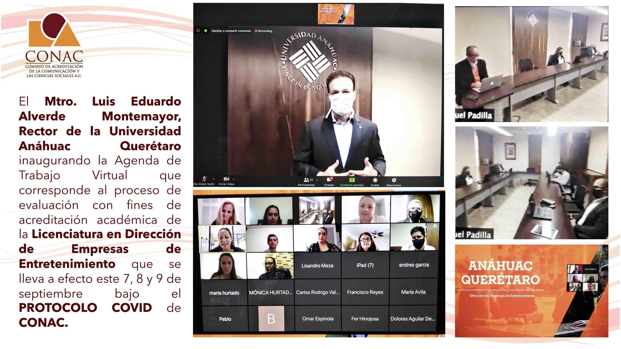 Sesión Inaugural Rector Universidad Anáhuac Querétaro