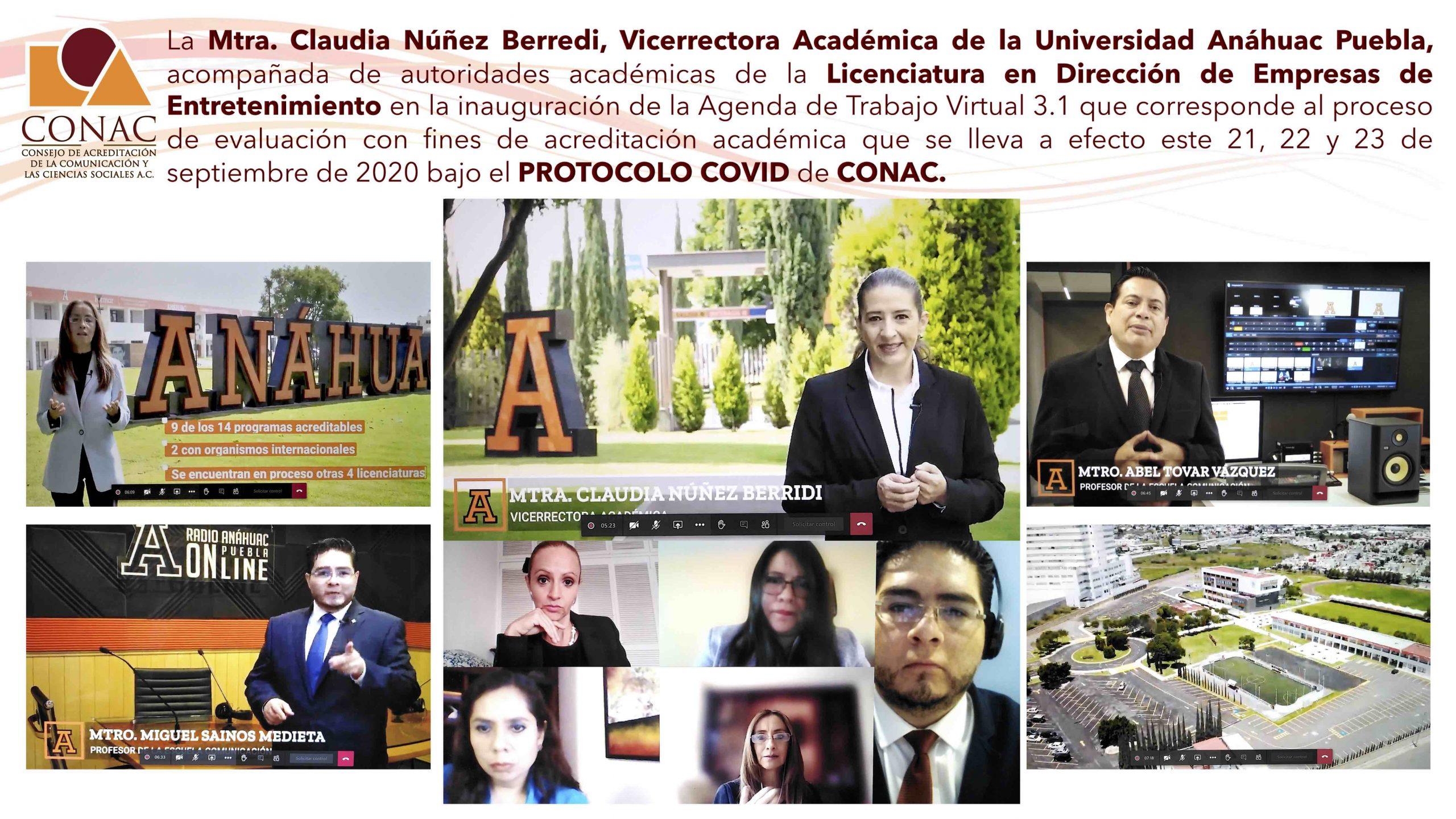 Sesión Inaugural U. Anáhuac Puebla