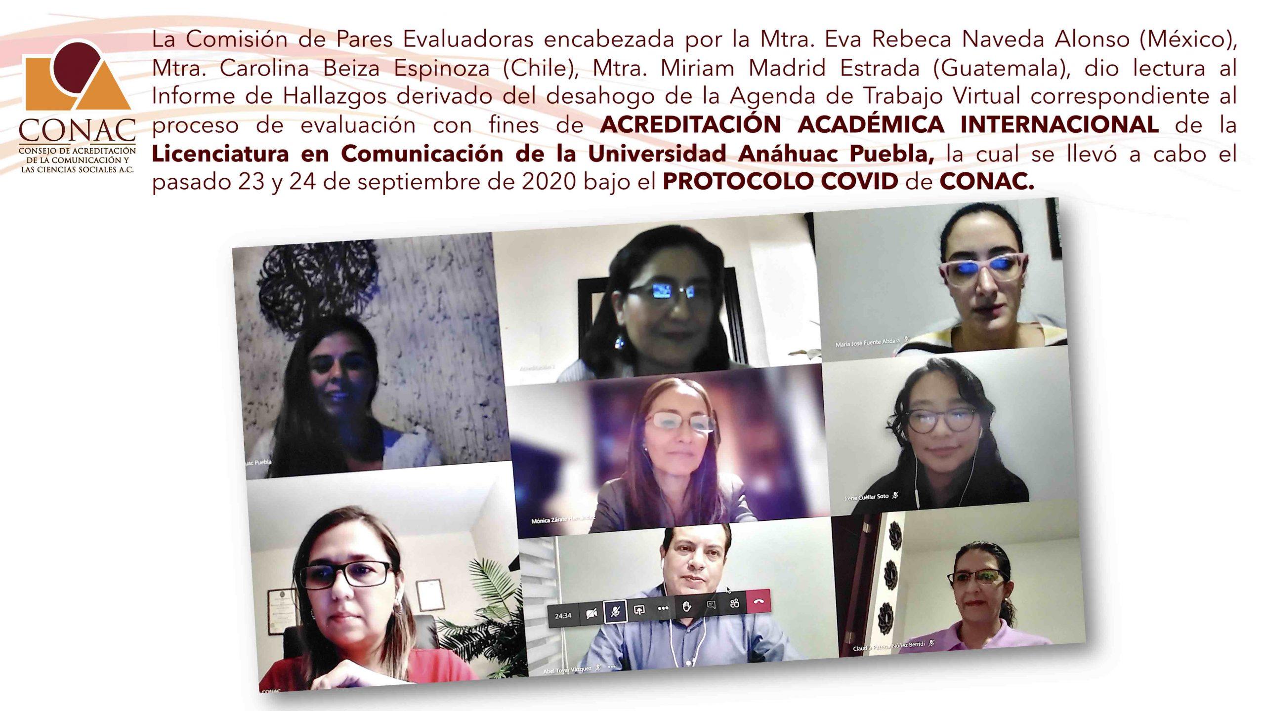 Informe de hallazgos U. Anáhuac Puebla Comunicación